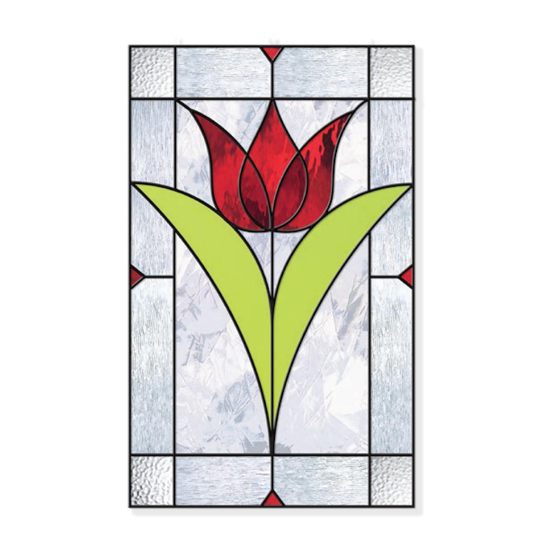 Free Nouveau Tulip Pattern