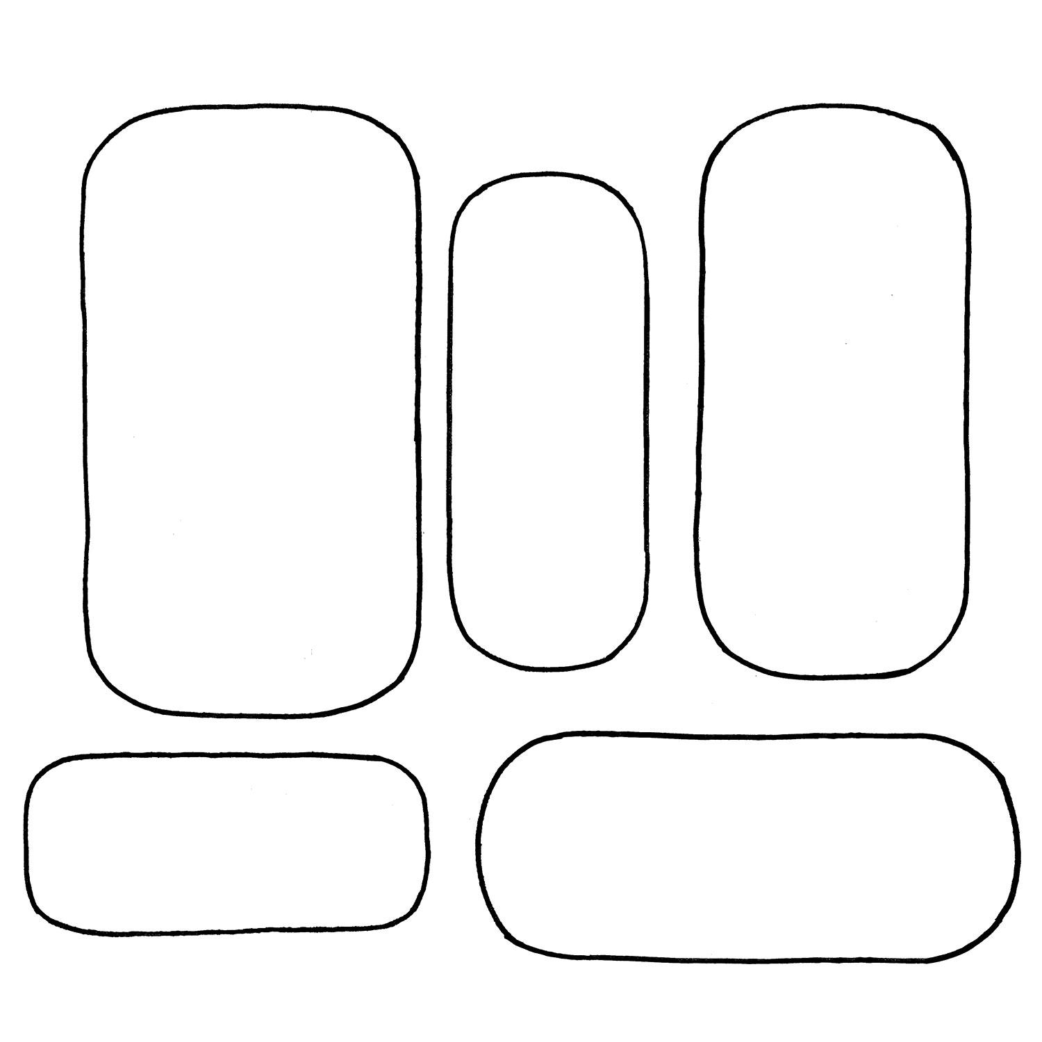Free Ovals Template