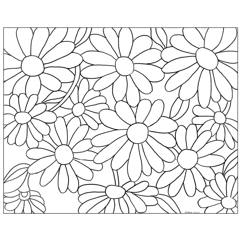 Free Gerbera Daisy Pattern