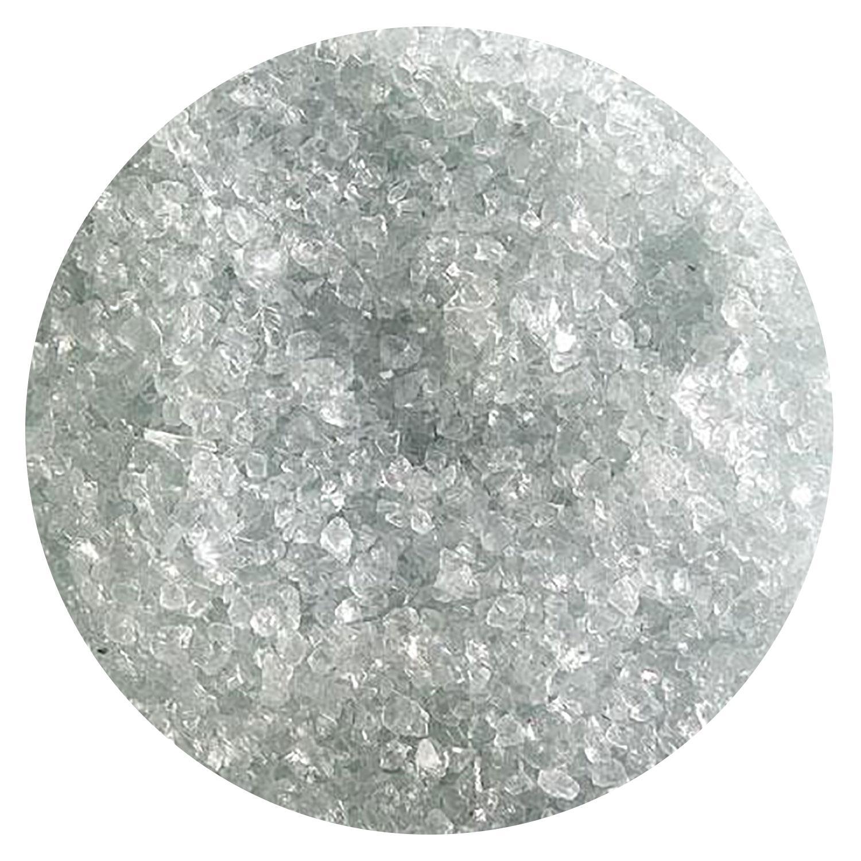 5 Oz Juniper Blue Tint Transparent Medium Frit - 90 COE
