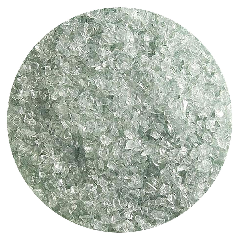 5 Oz Spruce Green Tint Transparent Medium Frit - 90 COE