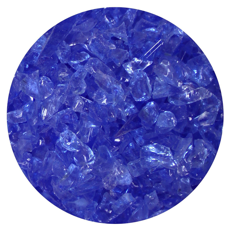 8.5 Oz Pale Blue Transparent Coarse Frit - 96 COE