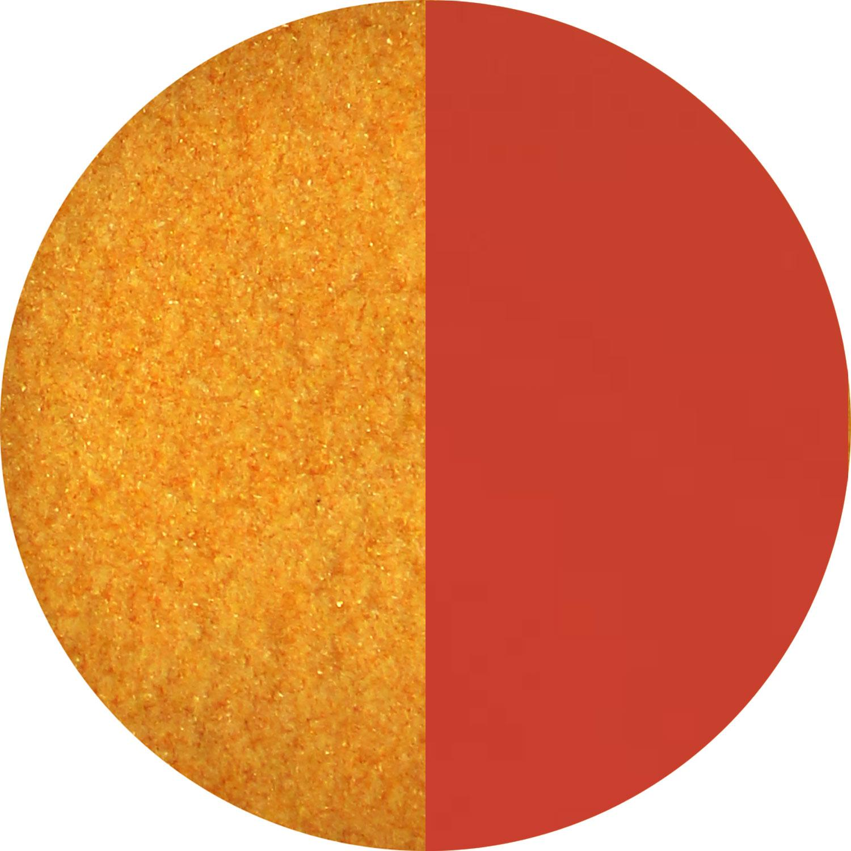 8.5 Oz Rust Transparent Powder Frit - 96 COE