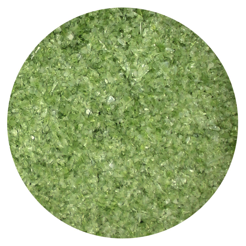 8.5 Oz Forest Green Opal Fine Frit - 96 COE