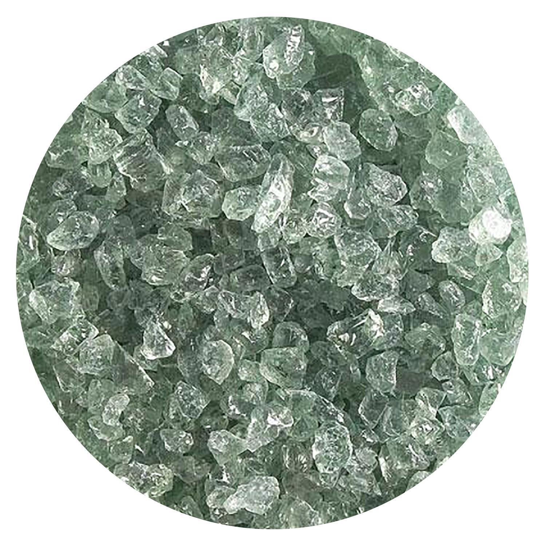 5 Oz Spruce Green Tint Transparent Coarse Frit - 90 COE
