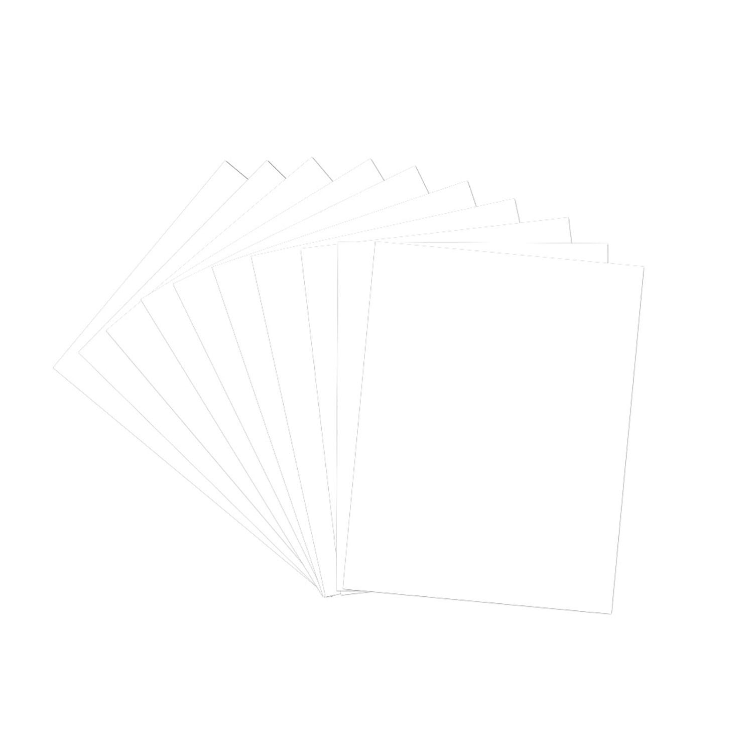 8-1/2 x 11 Pipers Pattern Paper Sheet - 10 Pack