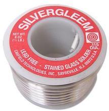 Canfield Lead-Free Silvergleem Solder - 1/2 lb.