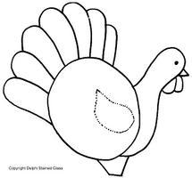 Free Thanksgiving Lamp Pattern