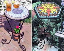 Mosaic Table Base