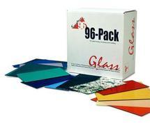 System 96 Deluxe Sampler Glass Pack - 96 COE