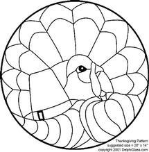 Free Thanksgiving Turkey Pattern