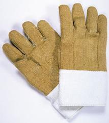 Deluxe High Heat Kevlar/PBI Gloves - 18 length