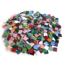 Iridized Stained Glass Chip Assortment - 4 Lb