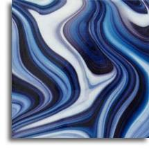 12 x 12 Spectrum Blackberry Cream Opal Art - 96 COE