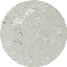 8.5 oz Water Clear Transparent Coarse Frit- COE 96