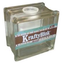 Kraftyblok 5-1/2 Clear Glass Block
