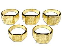 Gold Plated Ring Assortment - 5 Pack