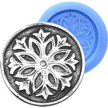 Snowflake Antique Push Mold
