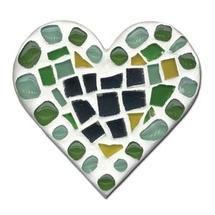 Mosaic Heart Wood Shape Kit
