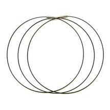 18 Black Magnetic Necklace - 3 Pack