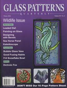 Glass Patterns Quarterly Magazine Winter 2014