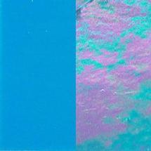 16 x 20 Wissmach Reactive Blue Opal Luminescent - 96 COE