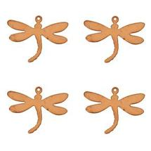 Dragonfly Copper Shape - 4 Pack