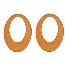 Open Oval Copper Shape - 2 Pack