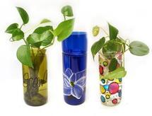 Free Self-Watering Planters Bottle Art Project Guide
