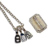 Silver Memory Jewelry Hanger Set