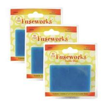 Fuseworks Blue Opal Glass - 12 Pack