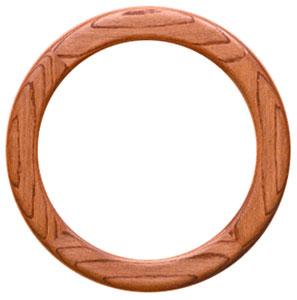 12 Round Ready-Made Oak Frame