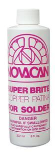 Super Brite Copper Patina for Solder - 8 oz