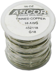 18 Gauge Pre-Tinned Wire