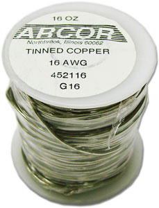16 Gauge Pre-Tinned Wire - 1 lb