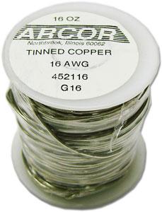 16 Gauge Pre-Tinned Wire - 1 lb
