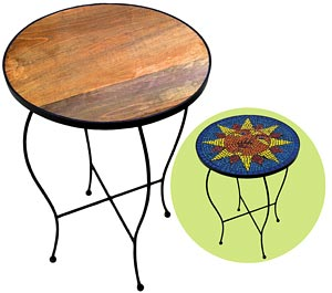 19 Round Table with Legs