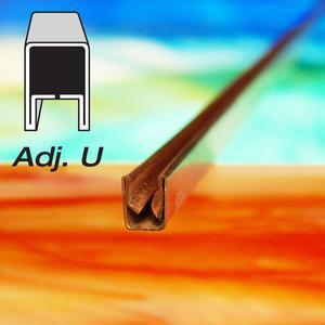 3/8 Adjustable U Copper Came - Strip