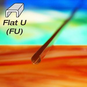 1/8 Flat U Copper Came - Strip
