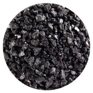 1 lb Black Opal Coarse Frit - 90 COE