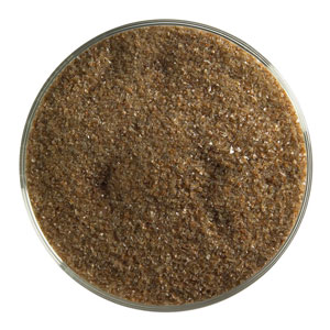 1 Lb Woodland Brown Opal Fine Frit - 90 COE