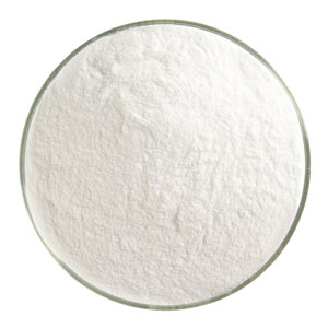 1 Lb Clear Transparent Powder Frit - 90 COE