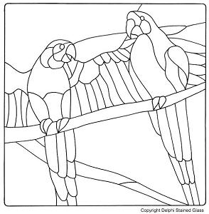 Free Parrots Pattern