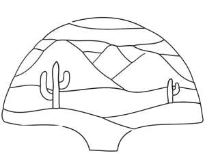 Free Desert Fan Lamp Pattern