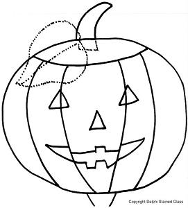 Free Halloween Lamp Pattern