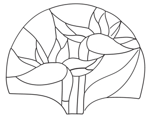 Free Flower Fan Lamp Pattern