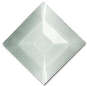 1 1/2 square double bevel