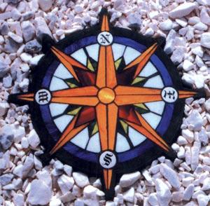 Compass Rose Mold
