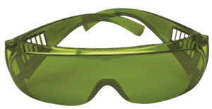 Light Green Glasses with IR and UV protection