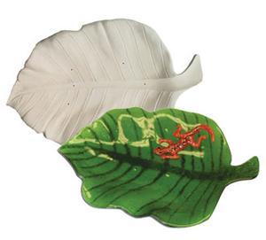 15-1/2 X 10 Leaf Platter